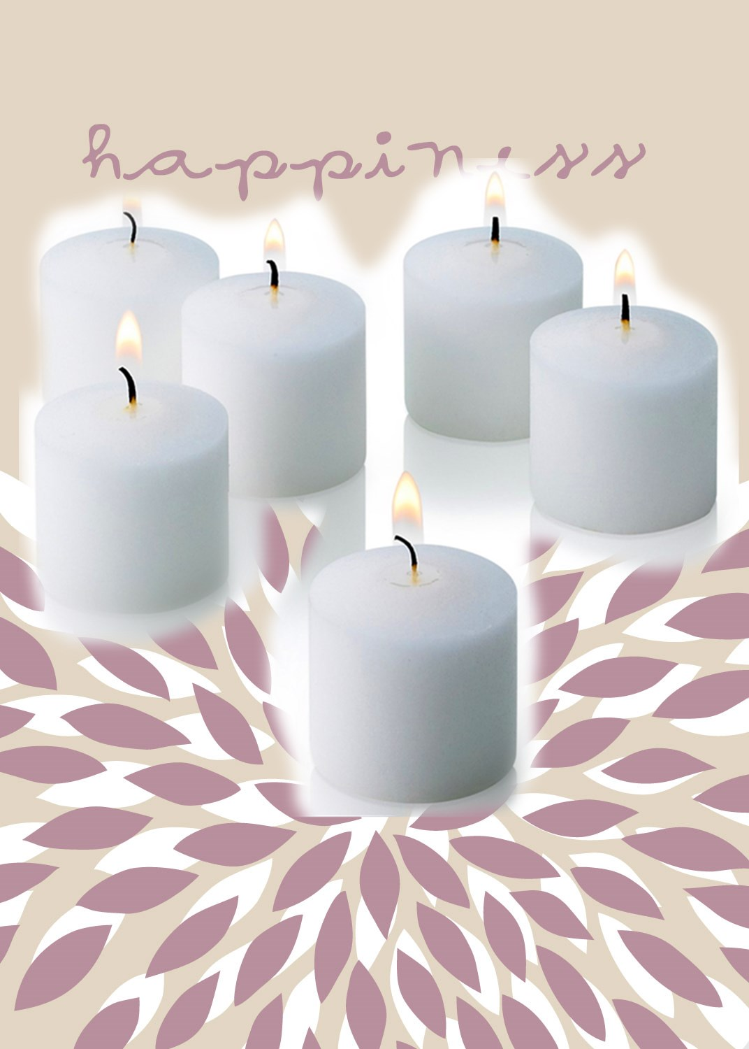 Trueliving Votives Unscented 6 pack 0.84oz / 24g (each)