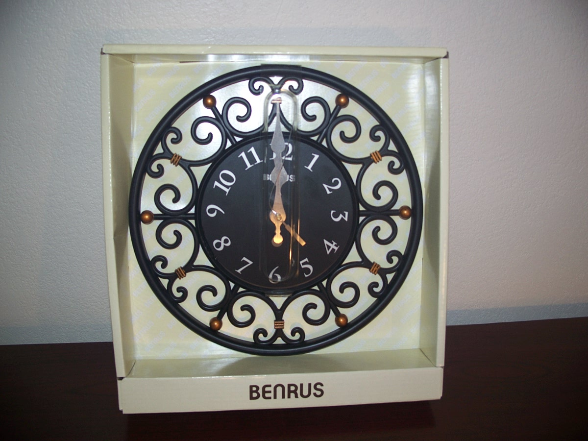 Benrus Wall Clock ( black )