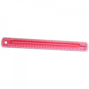 Wescott Finger Grip Ruler 00403