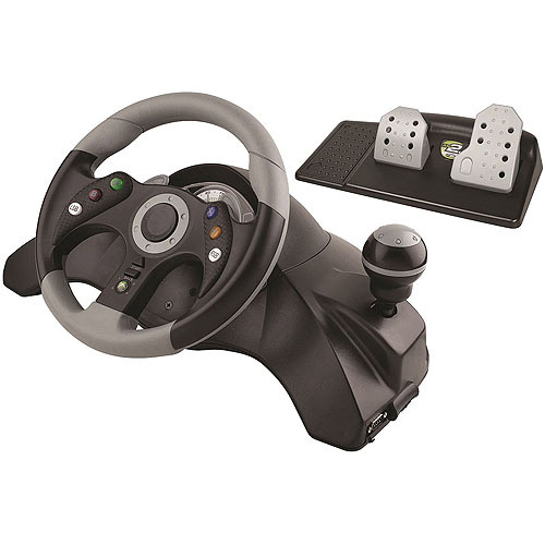 Mad Catz MC2 Racing Wheel and Pedals for Xbox 360