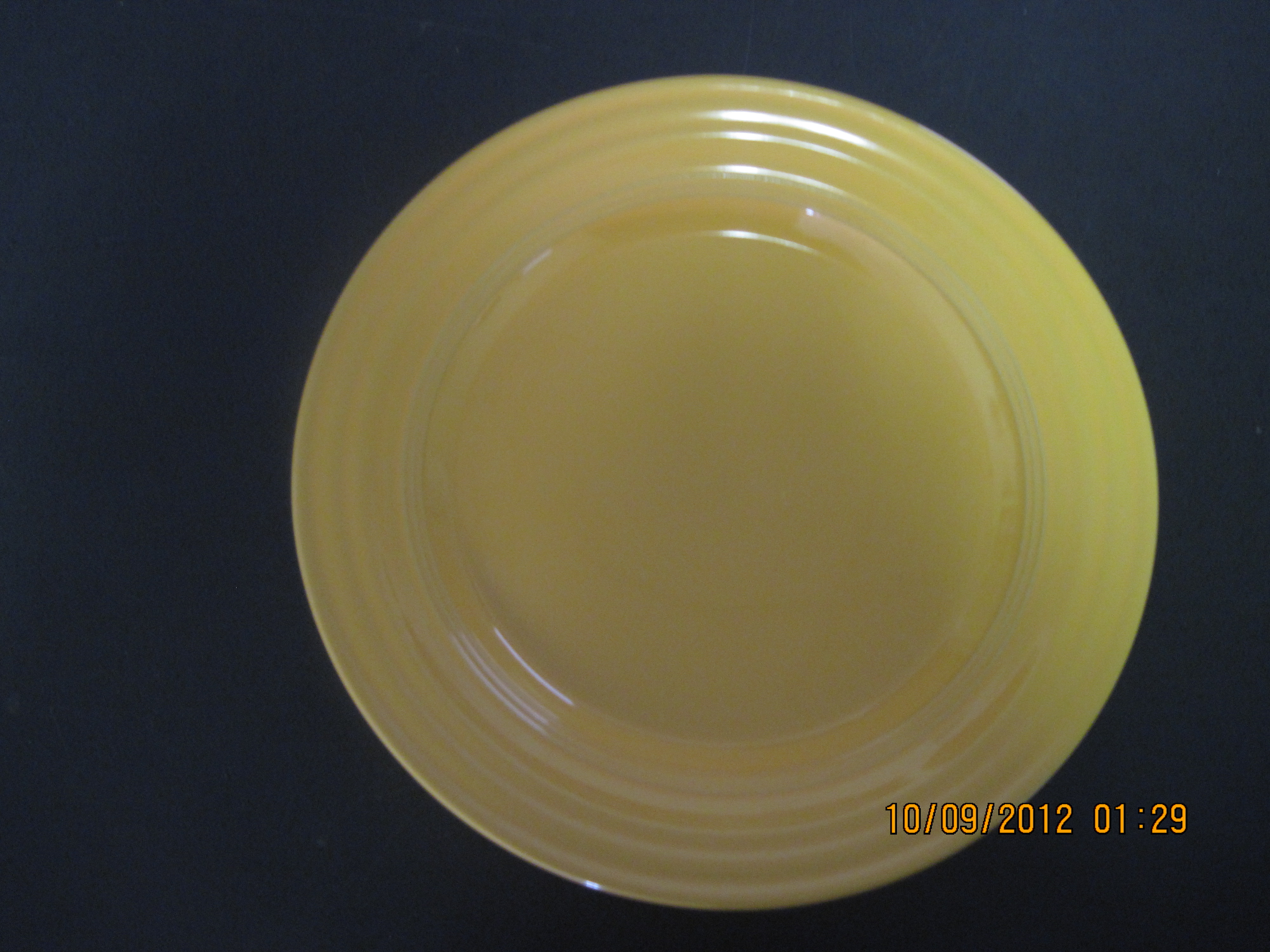 "South of Border Plate Dinnerware (10.5"" Dia yellow)"